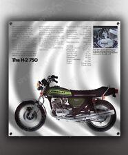 VINTAGE KAWASAKI H-2 750 MOTORCYCLE BANNER