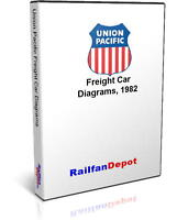 Union Pacific Freight Car Diagrams - PDF on CD - RailfanDepot