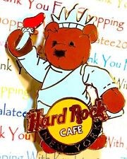 Hard Rock Cafe New York Liberty Bear Herrington Teddy Bear Series 2005 Pin NEW