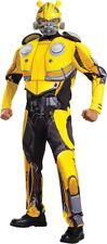 Bumblebee Deluxe Muscle Adult Costume Transformers Mens Halloween