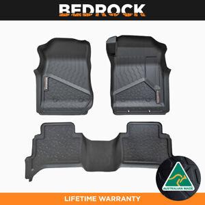 BEDROCK Liners For Isuzu MUX 2010-New SUV Car Floor Mats