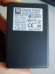 genuine CHECK POINT power supply  for  5V 3A Models edge-x and safe@office