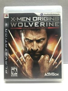 X-Men Origins: Wolverine - Uncaged Edition (PlayStation 3 2009) Complete Tested