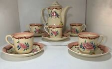 More details for *rare*  early clarice cliff 5 place coffee /tea set art deco wilkinson england