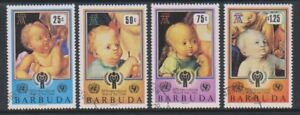 Barbuda - 1979, International Year of the Child, 2nd series set - F/U- SG 479/82