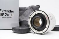 [UNUSED in BOX Case] Canon Extender EF 2x III Teleconverter Mark III From Japan