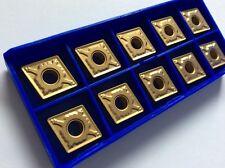 10 x Wendeplatten CNMG 120408-HM P15-Goldline für Stahl NEU!! Mit Rechnung!!