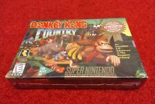 Donkey Kong Country (Super Nintendo) SNES ( Brand New & Factory Sealed!)