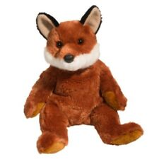 Douglas Toys Fox Plush Stuffed Toy Vixen Pudgies  #7753 Extra Soft - Brand New