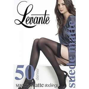 Levante suede Matte 50 Denier Stockings (Discontinued)