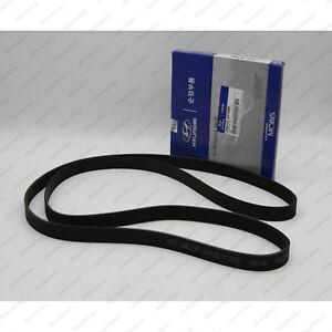 25212 2C400 Genuine OEM V-Ribbed Belts for Hyundai 2012 2016 Genesis