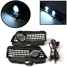 Fog Light DRL LED Driving Bumper Grille For VW MK3 Golf Jetta 92-98 6000K White