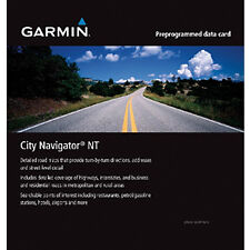 Garmin City Navigator Maps SD Card - Australia & New Zealand - 010-11875-00