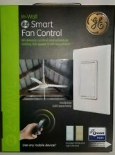 Smart Ceiling Fan Control, In-Wall, Zwave, White and Almond Plates, unused.