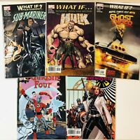What If? NM Marvel Comic Lot Set Run Fantastic Four Sub Mariner Ghost Rider Hulk