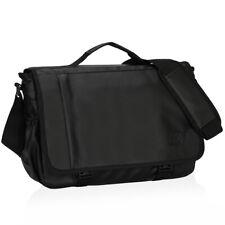 Hynes Eagle Satchel Messenger Bag for Men College Travel Shoulder Bag Briefcase