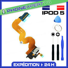 NAPPE DOCK CONNECTEUR CHARGE + JACK + NAPPE BOUTON HOME IPOD TOUCH 5 + OUTILS