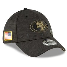 2020 San Francisco 49ers New Era 39THIRTY NFL Salute To Service Sideline Cap