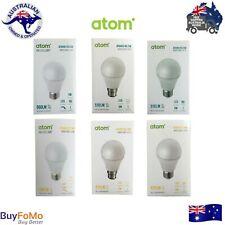 LED Light Bulbs B22 E27 Globes Dimmable ATOM Energy Saving Cool White/Warm White