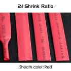 Dia 7.0mm Heat Shrink 2:1 Tubing Electrical Sleeving Cable Wire - Various Colors