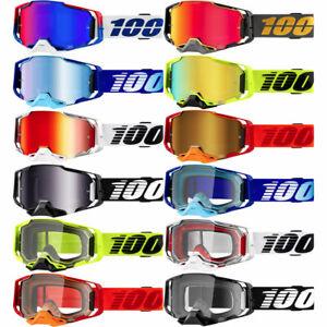 New 100% Armega Motocross Goggles - MX Dirt Bike Offroad - Pick Graphic