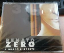 RENATO ZERO - A BRACCIA APERTE (COVER 3) - CD SINGOLO SIGILLATO (SEALED)