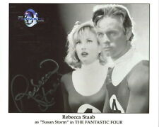 REBECCA STAAB HAND SIGNED 8x10 PHOTO       SUE STORM FROM FANTASTIC FOUR