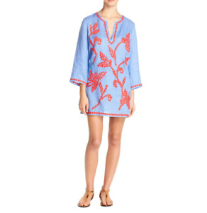 Tory Burch Talisay Tunic Swim Cover Up MSRP $325 Size S # 1U 540 NEW