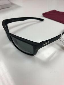 Authentic Suncloud Mayor Polarized Sunglasses Matte Blk/Polarized Grey Lens