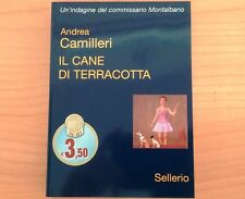 LIBRO libri Andrea CAMILLERI IL CANE DI TERRACOTTA Sellerio2007 Montalbano NUOVO
