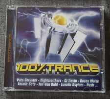 100% trance - DJ tiesto yves deruyter nightwatchers raven maize ect ..., CD