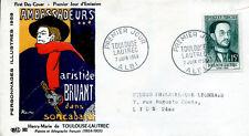 FRANCE FDC - 263 1171 1 TOULOUSE-LAUTREC ALBI 7 6 1958