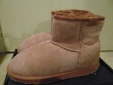 Emu Australia Stinger Mini ROSE Womens Sheepskin Ankle Boots - UK7 -BNIB