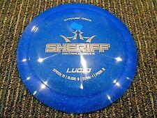 Dynamic Discs Dd Lucid Sparkle Sheriff Disc Golf Driver Blue/Silver 172G Lsdiscs