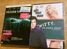 Lot of 2 Elisha Cuthbert Dvds Movies House of Wax & The Girl Next Door NEW