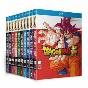 Dragon Ball Super Complete Seasons 1-10 Blu-Ray Box Set - Episodes 1-131