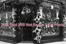 HA 384 - Christmas Toy Shop Front, Portsmouth, Hampshire c1914 - 6x4 Photo