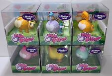 Cutie Patooties Bobble Bottoms LOT OF 6 Series 1 Complete Set Animal Figures NEW