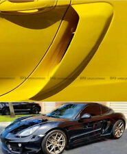 For Porsche 981 Cayman Side Air Intake Duct Vents Panel Racing Kits 2Pcs FRP