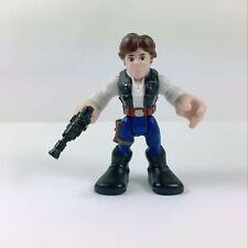Playskool Star Wars Galactic Heroes Jedi Force Han Solo holding gun Boy Toy