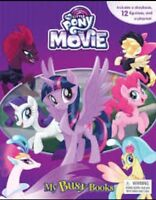 My Little Pony Movie My Busy Book With 12 Figurines & Playmat Cake Topper Party