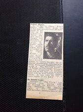 M6-3 Ephemera 1945 Article Theatre Actor Robert Beatty A Bell For Adano