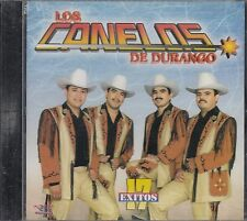 Los Canelos De Durango 17 Exitos CD New Nuevo sealed