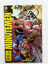 Before Watchmen Minutemen #4 1:25 Steve Rude Variant DC 2012 Mature Readers NM