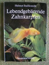 Lebendgebärende Zahnkarpfen - DDR Buch Fische Aquarium Guppys Mollys Zucht