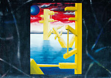 Radek Adam Sliwecki 1975 Łosice/Polen: Surreale Stadt im See 2000 Öl 62 x 90 cm