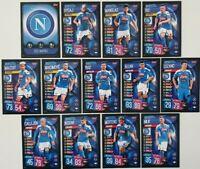 2019/20 Match Attax UEFA Soccer Cards - Napoli Team Set