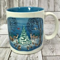 Russ Berrie Christmas Coffee Mug Cup All Things Bright and Beautiful Alexander
