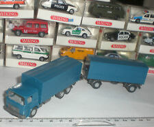 WIKING SEMI-REMORQUE 470 CAMION ANTIQUE MAN BUSSING OLD TIME TRUCK 1:87 HO NEUF