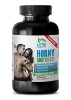 Male Stronger Orgasms Supplement - Horny Goat Weed 1560mg - Icariin Powder 1B